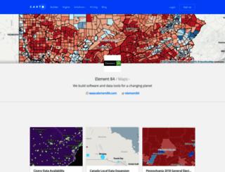 azavea-maps.cartodb.com screenshot
