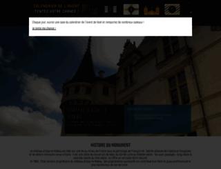 azay-le-rideau.monuments-nationaux.fr screenshot