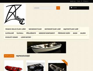 azboat.cz screenshot