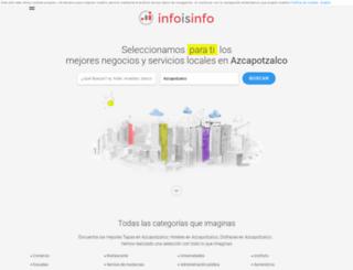 azcapotzalco.infoisinfo.com.mx screenshot