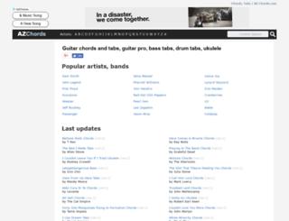 azchords.com screenshot