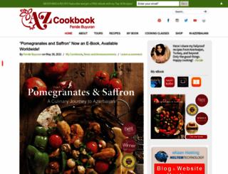 azcookbook.com screenshot