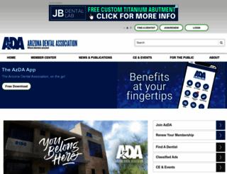 azda.org screenshot