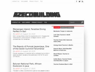 azecobuilding.com screenshot