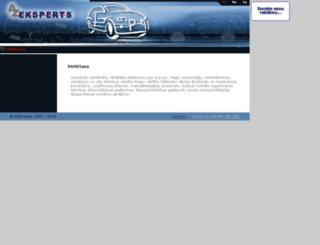 azeksperts.lv screenshot