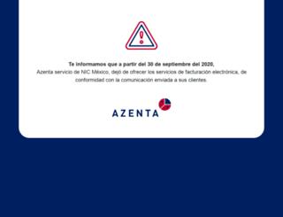 azenta.mx screenshot
