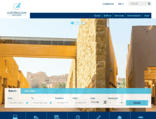 azerbaijanairlines.org screenshot