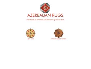 azerbaijanrugs.com screenshot