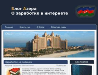 azerblog.ru screenshot