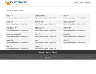 azerice.tvfrekansi.com screenshot