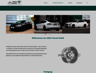 azev.com screenshot