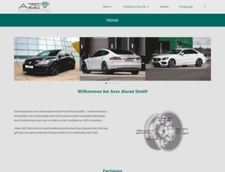 azev.de screenshot
