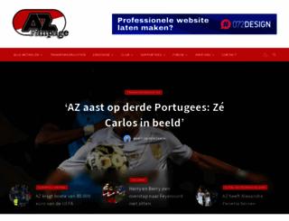 azfanpage.nl screenshot