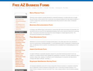 azforms.org screenshot