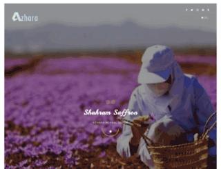 azharaherbal.com screenshot