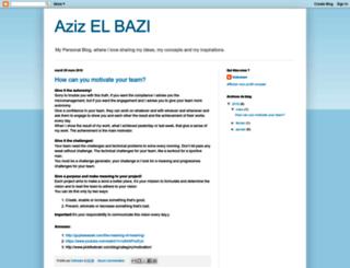 azizelbazi.blogspot.be screenshot