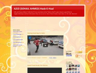 azizifun.blogspot.com screenshot