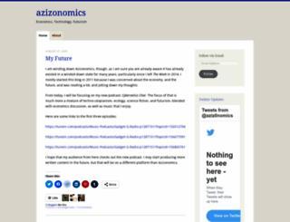 azizonomics.com screenshot