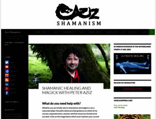 azizshamanism.com screenshot