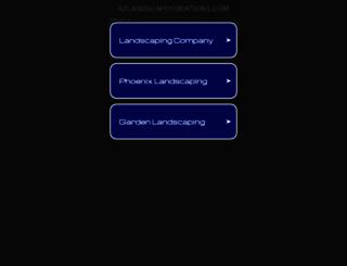 azlandscapecreations.com screenshot