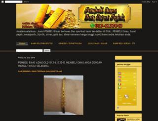 azmigoldresources.com screenshot