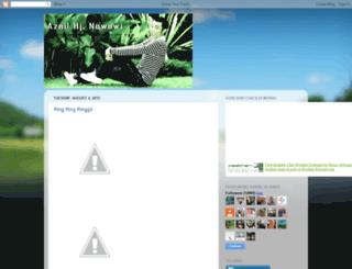 aznilnawawi.blogspot.com screenshot