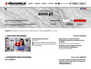 azon.pl screenshot