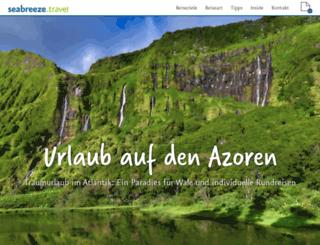 azoren-reisen.de screenshot