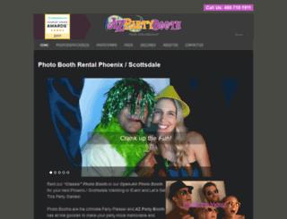 azpartybooth.com screenshot