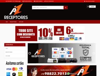 azreceptores.com.br screenshot