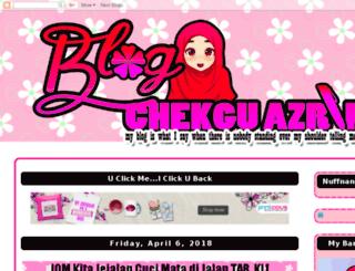 azrinzfamily.blogspot.com screenshot