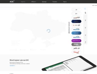 azs.uapetrol.com screenshot