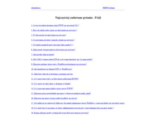 azs.ug.edu.pl screenshot