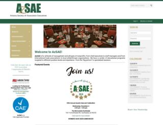 azsae.org screenshot