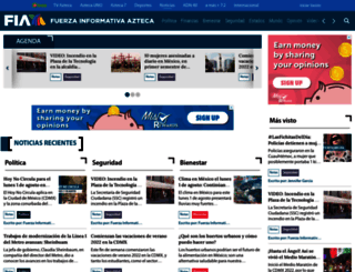 aztecanoticias.com.mx screenshot