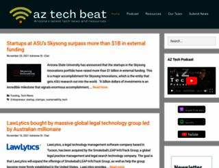 aztechbeat.com screenshot