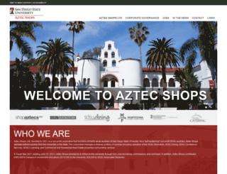 aztecshops.com screenshot