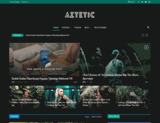 aztetic.my screenshot