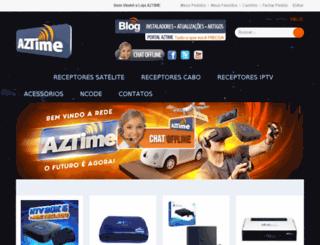 aztime.com.br screenshot
