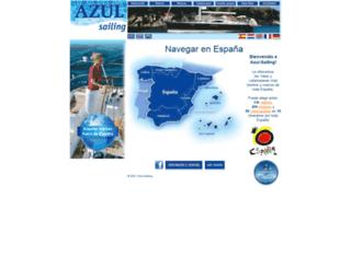 azul-sailing.com screenshot