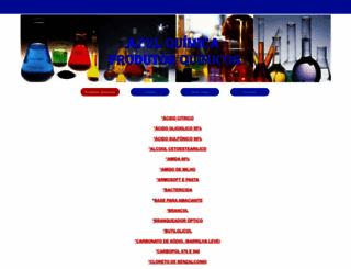 azulquimica.com screenshot