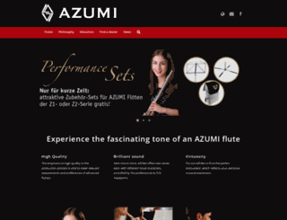 azumi.eu screenshot