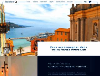 azur-concept-services-immobiliers.com screenshot