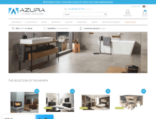azurahomedesign.com screenshot