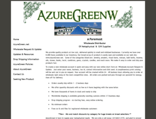 azuregreenw.com screenshot