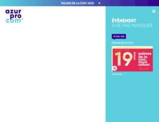 azurprocom.fr screenshot