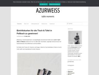 azurweiss.de screenshot