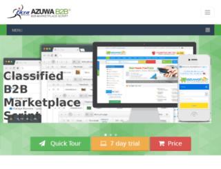 azuwab2b.com screenshot