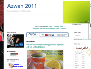 azwan2011.blogspot.com screenshot