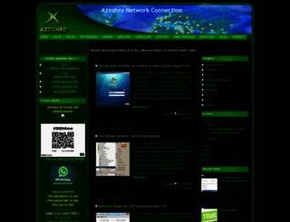 azzuhro-network-connection.blogspot.com screenshot